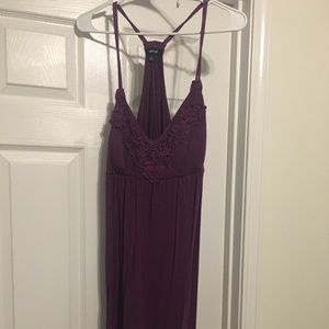 Purple Sundress